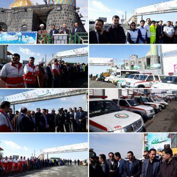 برگزاری مانور نوروزی ستاد تسهیلات خدمات سفر در شهرستان دماوند/ اجرای طرح آرامش بهاری در امامزاده هاشم(ع) دماوند