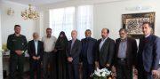 دیدار مسئولان با ۳ پاسدار انقلاب اسلامی در شهرستان دماوند+تصاویر