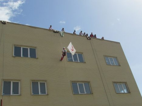 برگزاری مانور امداد و نجات در دانشگاه پیام نور دماوند