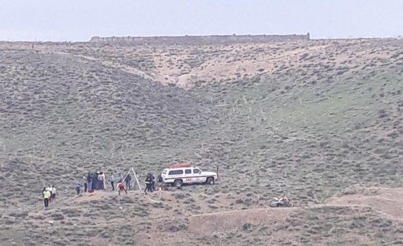سقوط یک فرد به داخل چاه در ارتفاعات روستای اتابک کتی شهر آبسرد/ تلاش برای جستجوی فرد سقوط کرده همچنان ادامه دارد