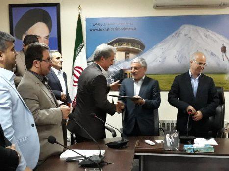 برگزاری آیین تودیع و معارفه بخشدار رودهن/ حمیدرضا ذوالفقاری به عنوان بخشدار جدید رودهن منصوب شد