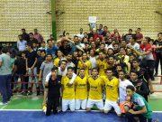 فینال و اختتامیه مسابقات جام رمضان شهر آبسرد/ تیم شهرداری آبسرد موفق به شکست تیم بخشداری مرکزی دماوند شد