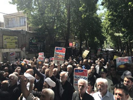 راهپیمایی روز قدس در دماوندبرگزار شد