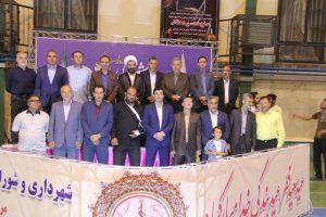 آیین اختتامیه مسابقات فوتسال جام رمضان شهر دماوند برگزار شد