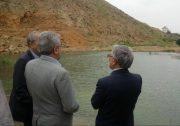 بازدید وزیر نیرو از سد روستای وادان دماوند