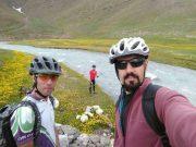 دوچرخهسواران شهرستان دماوند مسافت ۳۰ کیلومتر تا چشمه زیبای دیو آسیاب رکاب زدند