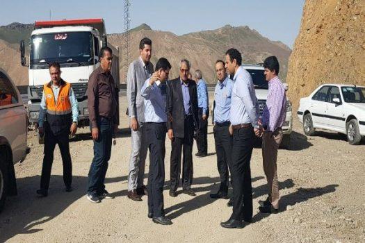 آغاز مجدد پروژه تعریض محور هراز محدوده گالری امامزاده هاشم(ع)