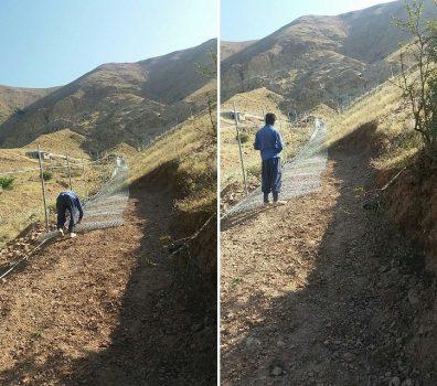آزادسازی حدود ۲ هزار مترمربع از اراضی ملی روستای خسروان دماوند