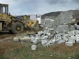تخریب ۳۳ فقره ساخت و ساز غیرمجاز در روستای سربندان