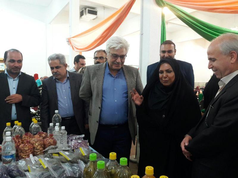 تصویر از همزمان با دومین روز از هفته فرهنگی دماوند صورت گرفت؛  برپایی نمایشگاه دستاورد بانوان و پوشاک در شهر رودهن