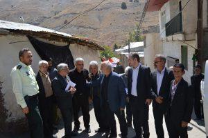 مشکلات روستاهای هویر، دهنار، مومج، یهر و کهنک بررسی شد