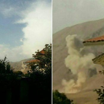معدومسازی مواد منفجره در پادگان حیدر کرار عامل انفجار در حوالی شهر آبسرد