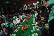 برپایی بزرگترین سفره نذری حضرت رقیه(س) در دماوند+تصاویر