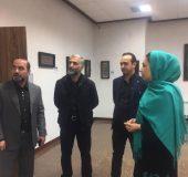 برپایی نمایشگاه تابلوهای نفیس معرق و منبت قرآنی در دماوند+تصاویر