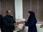 فاطمه حاجی خانزادی رئیس جدید اداره بهزیستی دماوند شد