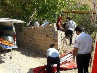 سقوط کارگر تبعه افغانستانی به چاه ۱۲ متری در روستای مغانک دماوند
