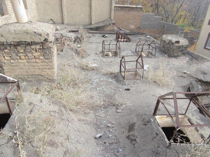 حمام تاریخی روستای آئینه ورزان دماوند