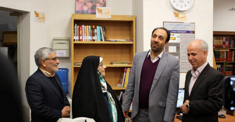 سفر رئیس کتابخانه ملی و مرکز اسناد انقلاب اسلامی کشور به شهرستان دماوند