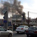 آتش سوزی یک کارگاه قنادی گیلاوند شهر دماوند