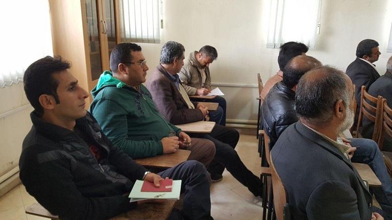 برگزاری دوره آموزشی اصلاح الگوی کشت در آبسرد