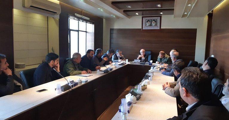 مجمع شوراها و دهیاران منطقه کوهپایه ابرشیوه با مسئولان شهرستان دماوند