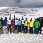 مرحله اول رقابتهای لیگ بینالمللی اسکی صحرانوردی در پیست اسکی کلوپ نور امامزاده هاشم دماوند با پایان رسید