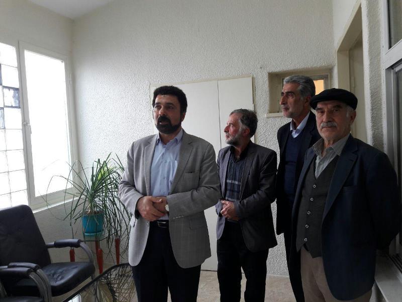 مسعود مسلمی فر رئیس بیمارستانهای شهرستان دماوند