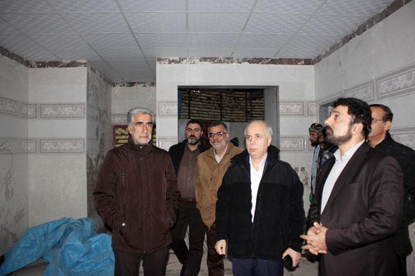 اورژانس در حال تکمیل بیمارستان حضرت فاطمه دماوند (1)