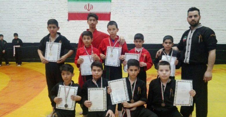 کونگ فوکاران دماوند در مسابقات شرق استان تهران