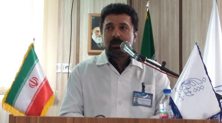 مسعود مسلمی فرد رئیس بیمارستان سوم شعبان دماوند