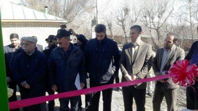 تصویر از همزمان با چهلمین سالگرد پیروزی انقلاب اسلامی صورت گرفت؛  بهرهبرداری از سیستم آبیاری قطرهای باغ زند در روستای جابان