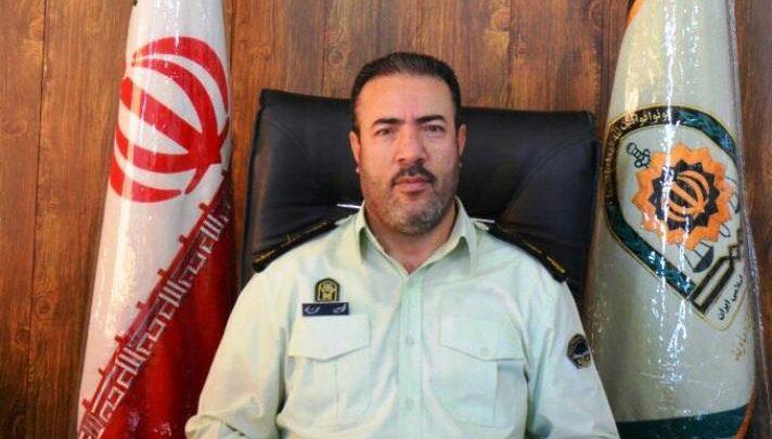 سرهنگ محمد حسن محمدی فرمانده انتظامی شهرستان دماوند