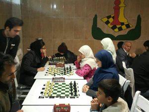 مسابقات شطرنج بهروش سویسی در شهر رودهن (1)