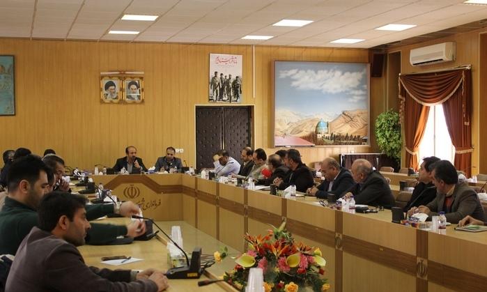 نشست شورای پدافند غیرعامل شهرستان دماوند (1)