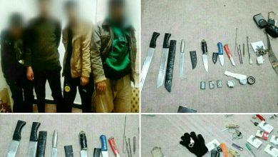 تصویر از با تلاش سربازان گمنام ولایت صورت گرفت؛  دستگیری ۴ نفر سارق و اراذل و اوباش در شهر آبسرد