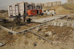 احداث پارک به مساحت 3500 مترمربع در سایت مسکن مهر رودهن (1)
