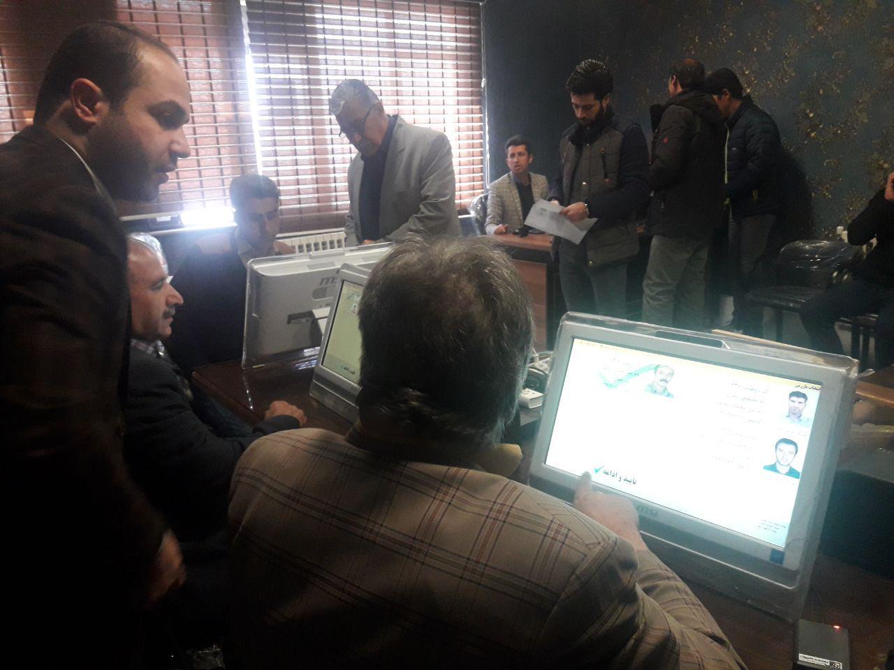انتخابات اتحادیه فروشندگان لوازم الکترونیکی و نهادهای کشاورزی دماوند (1)