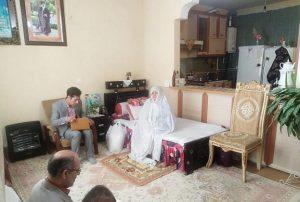 دیدار مسئولان با خانواده شهیدان جعفری و کاکل قمی در دماوند (1)
