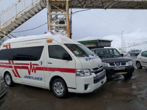 مانور آمادهباش ستاد تسهیلات خدمات سفر شهرستان دماوند ویژه نوروز ۹۸ در آستان مقدس امامزاده هاشم(ع) دماوند (1)