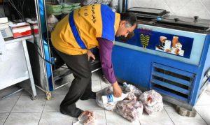 معدومسازی۵۳ کیلوگرم مواد پروتئینی در شهر آبسرد (1)
