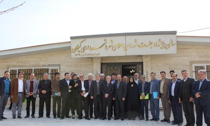 نشست امور هماهنگی شهری و روستایی شهرستان دماوند که به میزبانی شهرداری و شورای اسلامی شهر کیلان (1)
