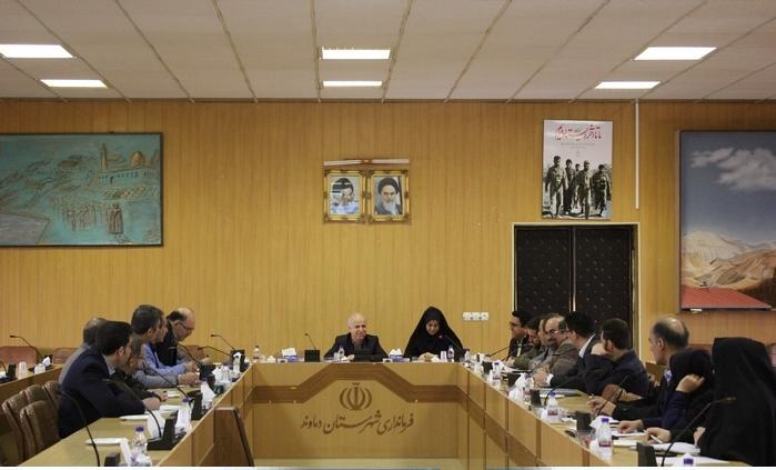 نشست شورای هماهنگی بانکها و اقتصاد مقاومتی شهرستان دماوند (1)