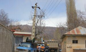 اجرای طرح جهادی بهسازی شبکه برق دماوند در سال 98