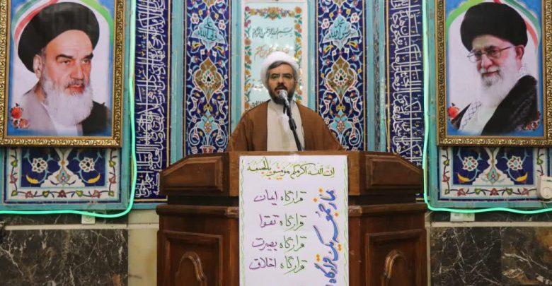 کاظم فتاح دماوندی امام جمعه شهرستان دماوند