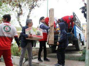 کمک مردمی کیلان سیل زدگان