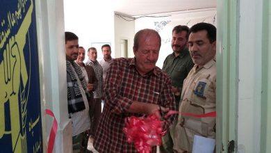 تصویر از افتتاح دفتر پایگاه مقاومت بسیج شهید ذاکران مشاعی در امامزاده هاشم(ع) دماوند