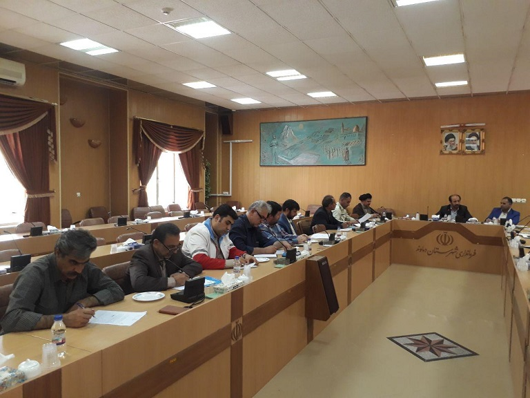 چهارمین نشست شورای هماهنگی مبارزه با مواد مخدر شهرستان دماوند (1)