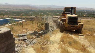 تصویر از رئیس اداره منابع طبیعی و آبخیزداری شهرستان دماوند:  خلع ید و رفع تصرف ۲ هکتار از اراضی روستای جابان