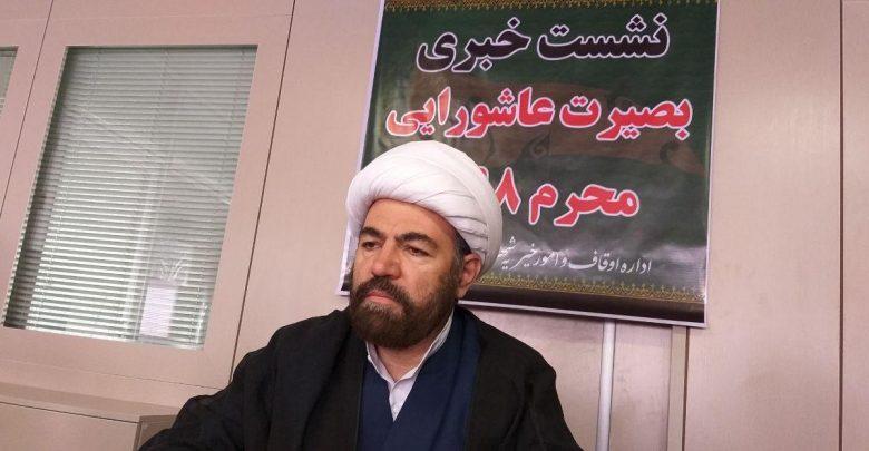 حجت اسلام و المسلمین احمد اشرفی رئیس اداره اوقاف و امور خیریه شهرستان دماوند (2)