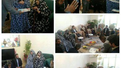 تصویر از دیدار مسئولان با خانواده معظم شهدا در شهر کیلان